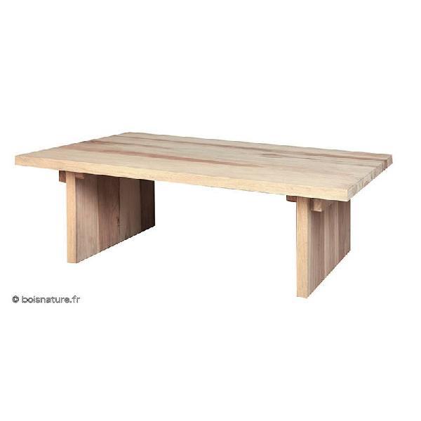 TABLE BASSE PLATEAU MASSIF PM